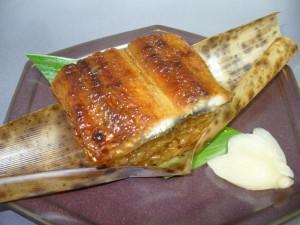 鰻の飯蒸し